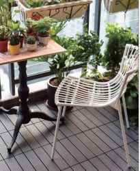 2021 تصميم كلاسيكي مطعم الأثاث حديد مصبوب طاولة ثنيات الساق مطعم أنيق