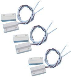 Interruptor de Palheta de segurança da porta magnética do interruptor de proximidade magnético retangular de vidro corrediço de porta automática do Sensor de Movimento do Sensor de Proximidade