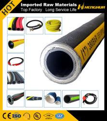 Fábrica de larga vida de servicio superior hidráulica de alta presión Industrial manguera de goma / tubo de goma de aceite / agua de la manguera flexible de aire