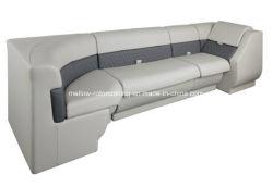 Ponton-Boots-Sofa-Marinesitz mit geformtem PET Rotationsmaterial und Marinegrad-Vinyl