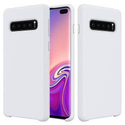Новая роскошь жидкость силиконовый чехол для телефона Samsung S10 дела