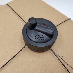 L'Araignée de sécurité EAS tag tag Self-Alarm EAS Spider ronde d'enrubannage