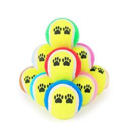 Bom preço barato o logotipo OEM personalizadas e diferentes formas de promoção de venda por grosso de bola de ténis Pet