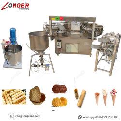 Rouleau de rouleau d'oeufs d'origine de la crème glacée de machines pour la vente de cône