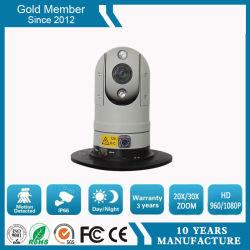 20X 1080P Coche montado a prueba de vibraciones cámara PTZ IP