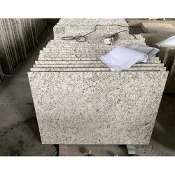 Imperial White Granite Tile façade au mur/comptoir//cuisine préfabriqué