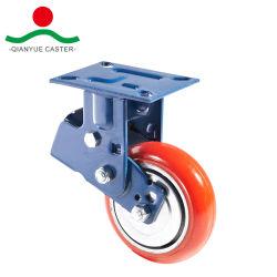 Жесткая тип PU для поглощения ударов самоустанавливающегося колеса для тяжелого режима работы