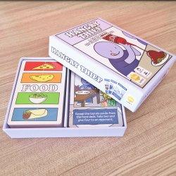 Personalizar o papel cartas de jogo flash de desenhos animados para crianças Estudo Dois Decks Cards personalizados