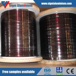 Émaillé/Overcoated émaillé fil rond en aluminium pour le moteur de rembobinage