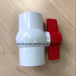 Langes Handle, Long Body PVC Ball Valve mit New Material Quality