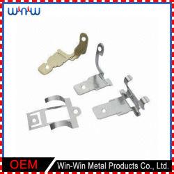 Алюминиевый металл частей точности малый штемпелюя скрынные зажимы панели