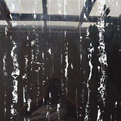 Arquitectura de Interiores de estilo europeu, piso de textura de Dragão de prata azulejos pretos