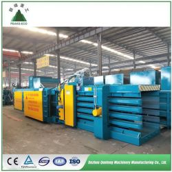 Occ를 위한 Ce/ISO/TUV 포장기 기계, 쓰레기, 폐지, 마분지, 밀짚, 플라스틱, 애완 동물 또는 유압에게 짐짝으로 만들 수평한 재생 포장기 자동 또는 공장을 소유하기 위하여
