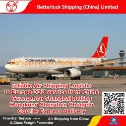 Logística de transporte aéreo fiable a Europa Noruega DDU servicios procedentes de China Beijing Shanghai Guangzhou