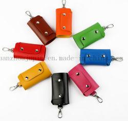 Le logo OEM Wholesale PU souple en cuir avec crochet de bag de clé