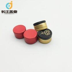 La Chine Custom 25mm/28mm en aluminium avec bouchon à vis de la fermeture de bouteilles en verre