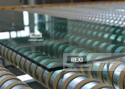 3mm19mm poetste de vlakke/gebogen Rand de Aangemaakte Comités van de Bladen van het Glas op