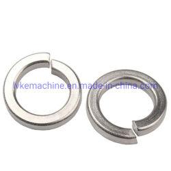 OEM / ODM les rondelles de blocage, la rondelle élastique, Noir, plaqué nickel, zinc Split la rondelle de blocage