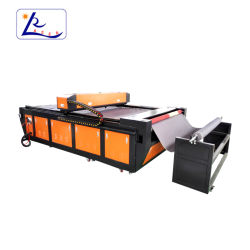 Máquina de corte láser para corte de tejido de máquina láser 2030 para los tejidos de piel sintética