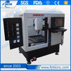 FM6060 CNC van de gravure de Machine van het Malen voor het Aluminium van het Metaal