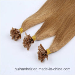 100% Remy Cheveux humains indiens U Astuce Nail hair extension