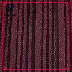 Tecido de malha respirável tingido com fios de nylon e poliéster para roupas