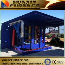 3t de middelgrote Oven van de Inductie van de Frequentie voor Smeltend Koper