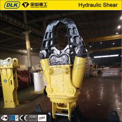 Les pièces jointes de cisaillement hydraulique d'équipement de béton pour les excavatrices 15tonne Zx150