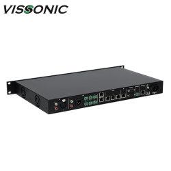 풀 디지털 네트워크 어레이 컨퍼런스 시스템 컨트롤러 오디오/비디오 컨퍼런스 프로세서