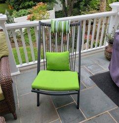 접는 의자를 식사하는 현대 옥외 여가 Meatl 간편 의자 알루미늄 편리한 정원