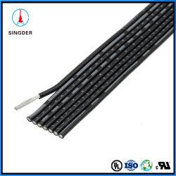 Memoria elettrica Awm dell'isolamento UL2468 del PVC del collegare del cavo dell'UL del gemello del nastro piano gemellare elencato del collegare multi
