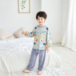 Venda a quente a granel pijamas define o padrão de múltiplos Sleepwear Moda roupas infantis em stock
