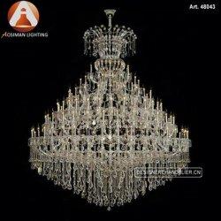 Projeto de Hotel Custom Maria Teresa Luxury lustre de cristal