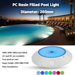 2020 Hot Sale contacteur de commande Multi Big projet commercial de béton de couleur LED témoin de la piscine avec deux ans de garantie