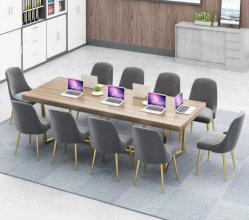 Neues Büro-moderner Möbel-Hersteller-Sitzen-Raum-Executivsitzungs-Arbeitsplatz-Konferenzsaal-Oberseite-Tisch-Schreibtisch mit Stühlen