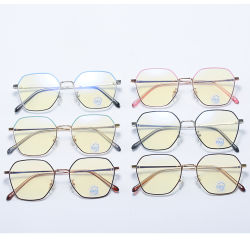 علامات جديدة للسنة Blue Light حظر عالية الجودة Cute علامة تجارية Sun مع علبة إطارات زجاجية يقرأ 1.50 تصميم عين نظارات للرجال والنساء