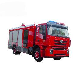 Camion di salvataggio di lotta antincendio della gomma piuma dell'acqua dell'Iveco 8000L con la carrozza della squadra