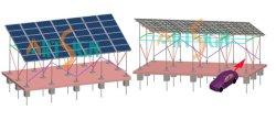 Parcheggio solare Lot-1 del sistema del montaggio