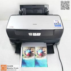 최신 판매 이동 전화 훈장 스티커 피부 인쇄 기계