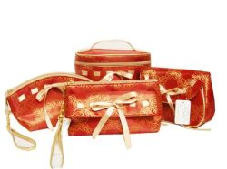 Bag Travel Bag (GF2095)の女性Fashion Cosmetic Makeup Set Bag Pouch Beauty Christmas Gift Cosmetic Bag Set Promotional Fashion Cosmetic Organizer Bag