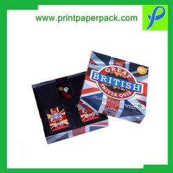 Cuadro impreso personalizado resistente Embalaje Embalaje cajas de embalaje de regalo Cajas de tapa &bandeja con la plataforma