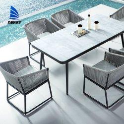 ألومنيوم [هومستي] فندق أثاث لازم حديقة قضيب ثبت كرسي تثبيت طاولة خارجيّة