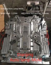 OEM Custom Auto moule à injection de la lampe, pièces de voiture Auto meurent du moule en plastique de lumière