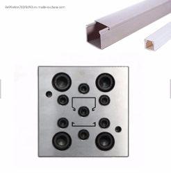 PVC導通のケーブルダクトの放出型の別のサイズの形は用具を使うことを停止する