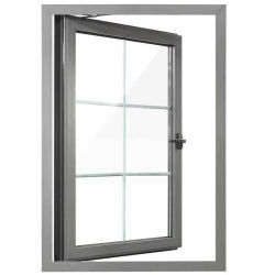 حقيقيّة مصنع صاحب مصنع ممون ألومنيوم ظلة إنحناء نباح علّب ضعف [فرنش] شباك نافذة