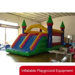 preço de fábrica personalizada Kids Jumping Bouncer inflável com deslize