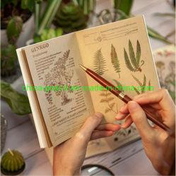 Las plantas de flores de Diseño de impresión de notas Bloc de notas de bricolaje Pad
