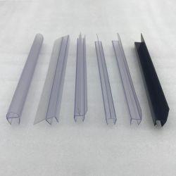 Tira cierre magnético de PVC para el cuarto de baño de plástico de la puerta de vidrio Burlete para puerta Anti-Collision ducha de vidrio cantos
