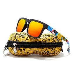 Эухения OEM УФ400 поляризованные линзы наружного зеркала заднего вида спорта мужчин на велосипеде солнечные очки