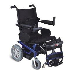 La rehabilitación de acero de aluminio poder pararse en silla de ruedas plegable silla de ruedas eléctrica Manual para personas con discapacidad